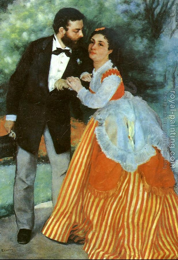Pierre Auguste Renoir : Alfred Sisley and his wife